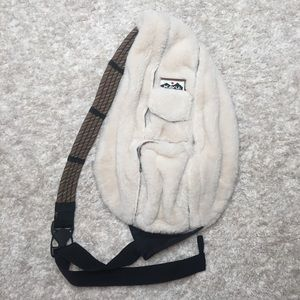 Kavu Fuzzy Rope Sling Bag Crossbody Backpack